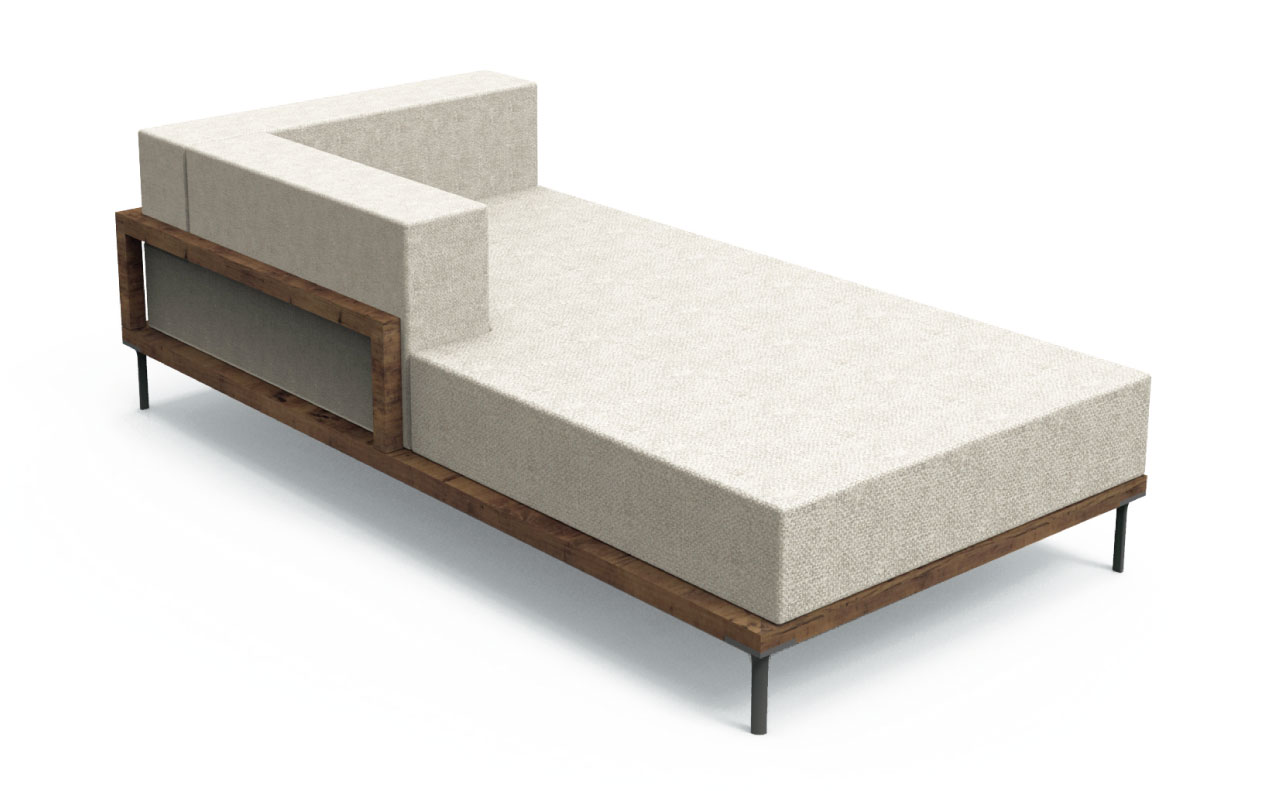 cleo collection Sofa Longue DX