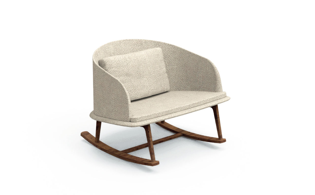 cleo collection Rocking Chair